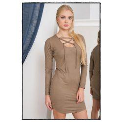 Keresztpántos ruha