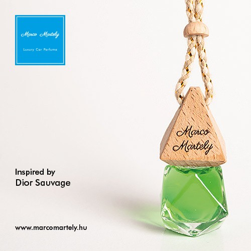Autóillatosító parfüm inspired by Sauvage, illat férfiaknak