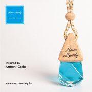 Autóillatosító parfüm inspired by Code, illat férfiaknak