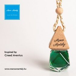 Autóillatosító parfüm inspired by Creed Aventus, illat férfiaknak