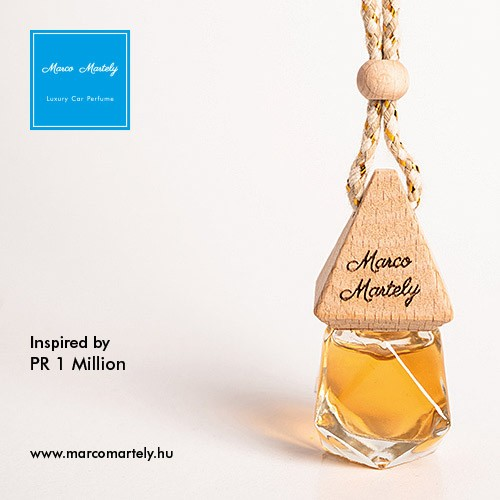 Autóillatosító parfüm inspired by Paco Rabanne 1 Million, illat férfiaknak