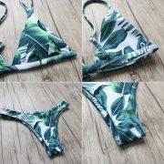 Levélmintás bikini