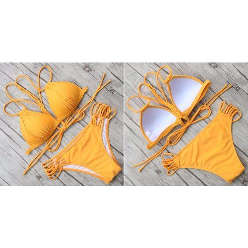 Pántos push-up bikini 5 színben