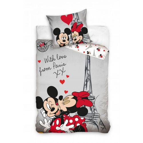Mickey & Minnie Paris ágyneműhuzat