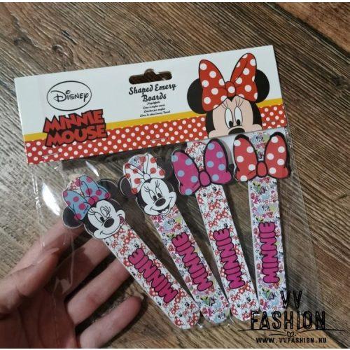 Minnie Mouse 4 db-os körömreszelő szett