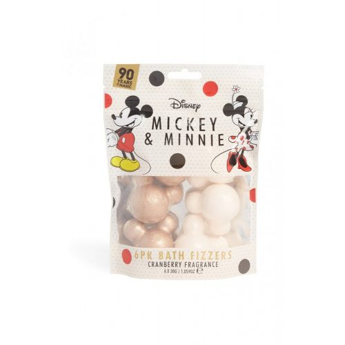 Mickey & Minnie 6 darabos fürdőbomba