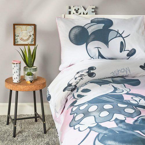 Mickey & Minnie Mouse kétszemélyes ágyneműhuzat