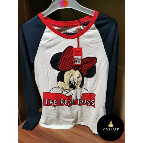 Minnie Mouse - The real boss pizsama