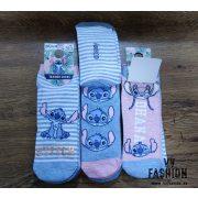 Stitch 3 db-os rövid szárú zokni