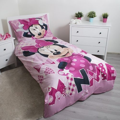 Minnie Mouse sötétben világító ágyneműhuzat