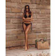 OLV O La Voga NEON bikini - fekete