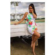 Rensix mintás miniruha 2 színben